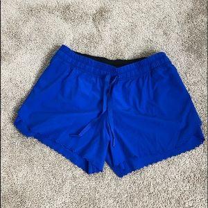 Lululemon blue shorts